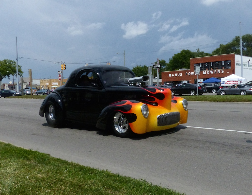 Woodward Ave Dream Cruise | WhereRVGoingNow